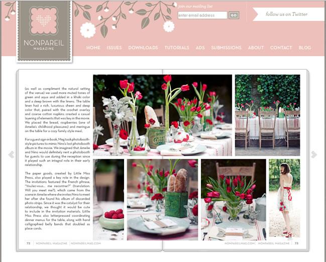 Nonpareil Magazine| Sweet Amelie